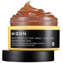 Mizon Enjoy Fresh-On Time bőrélénkítő és hidratáló maszk mézzel száraz bőrre  100 ml