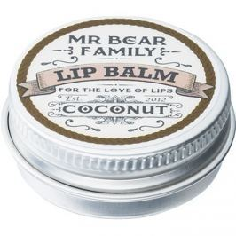 Mr Bear Family Coconut ajakbalzsam uraknak  15 ml