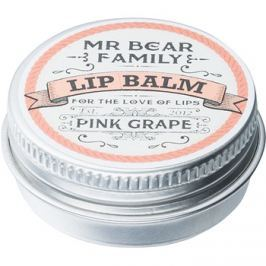 Mr Bear Family Pink Grape ajakbalzsam uraknak  15 ml