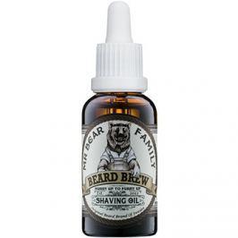 Mr Bear Family Skincare borotválkozási olaj uraknak  30 ml
