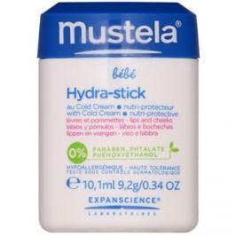 Mustela Bébé Hydra Stick védő hidratáló stick gyermekeknek  10 ml