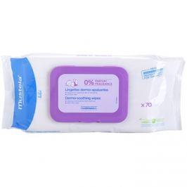 Mustela Bébé Change tisztító törlőkendő parfümmentes  70 db