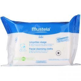 Mustela Bébé Toillete tisztító törlőkendő az arcra  25 db