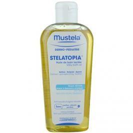 Mustela Dermo-Pédiatrie Stelatopia fürdő olaj nagyon száraz, érzékeny és atópiás bőrre  200 ml