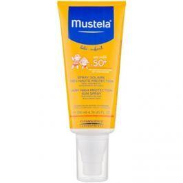 Mustela Solaires védő spray gyermekeknek SPF50+  200 ml