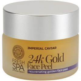 Natura Siberica Fresh Spa Imperial Caviar fiatalító arcpeeling 24 karátos arannyal  50 ml