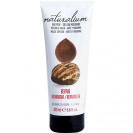 Naturalium Nuts Shea and Macadamia regeneráló maszk keratinnal  200 ml