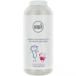 Naturativ Baby Sampon és lemosó 2 az 1-ben gyermekeknek születéstől kezdődően  250 ml