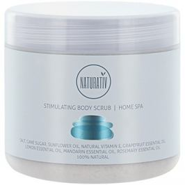 Naturativ Body Care Home Spa stimuláló testpeeling sóval és cukorral  500 ml
