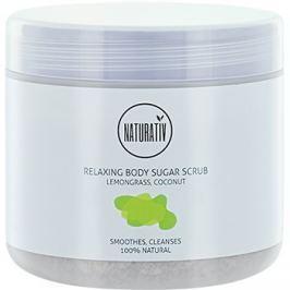 Naturativ Body Care Relaxing cukros peeling testre  500 ml