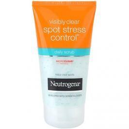 Neutrogena Visibly Clear Spot Stress Control peeling mindennapi használatra  150 ml