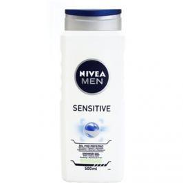 Nivea Men Sensitive tusfürdő gél arcra, testre és hajra  500 ml