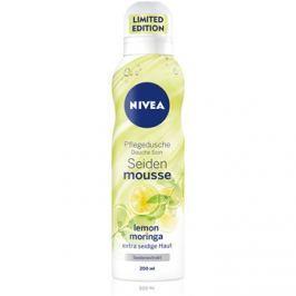 Nivea Silk Mousse Lemon Moringa tápláló fürdőhab  200 ml