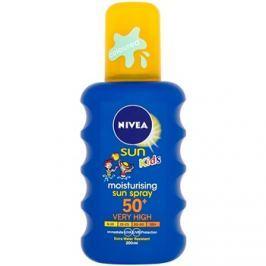 Nivea Sun Kids színezett napozó spray gyermekeknek SPF50+  200 ml