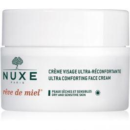 Nuxe Rêve de Miel nappali tápláló és hidratáló krém száraz bőrre  50 ml