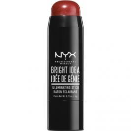 NYX Professional Makeup Bright Idea élénkítő ceruzában árnyalat 03 Brick Red Blaze 6 g