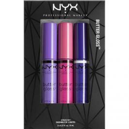 NYX Professional Makeup Butter Gloss kozmetika szett I.