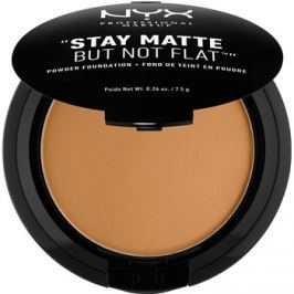NYX Professional Makeup HD Studio kompakt púderes make-up matt hatásért árnyalat 18.3 Deep Golden 7,5 g