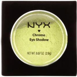 NYX Professional Makeup Chrome szemhéjfesték  árnyalat 45 Lime 2 g
