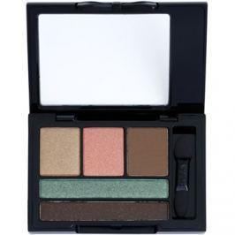 NYX Professional Makeup Love in Florence szemhéjfesték paletták applikátorral árnyalat 02 Eat, Love, Be Fab 2,4 g