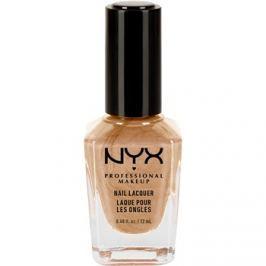 NYX Professional Makeup Nail Lacquer körömlakk árnyalat 66 Melted Gold 12 ml