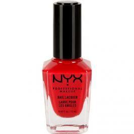 NYX Professional Makeup Nail Lacquer körömlakk árnyalat 32 Vinyl Red 12 ml