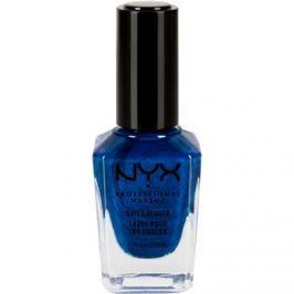 NYX Professional Makeup Nail Lacquer körömlakk árnyalat 58 Bermuda Triangle metallic 12 ml