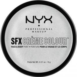 NYX Professional Makeup SFX Creme Colour™ make-up arcra és testre árnyalat 12 Silver 6 g