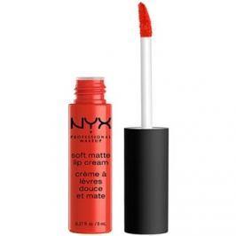 NYX Professional Makeup Soft Matte mattító folyékony rúzs árnyalat 22 Morocco 8 ml