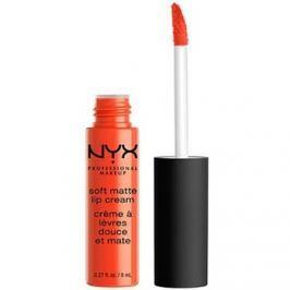NYX Professional Makeup Soft Matte mattító folyékony rúzs árnyalat 28 San Juan 8 ml