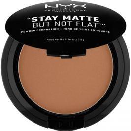 NYX Professional Makeup Stay Matte But Not Flat púderes make-up árnyalat 19 Cocoa 7,5 g
