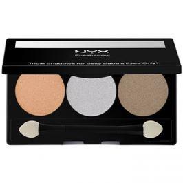 NYX Professional Makeup Triple szemhéjfesték paletták árnyalat 32 Olive Grove 2,1 g