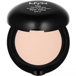 NYX Professional Makeup Twin Cake kompakt púder SPF 10 árnyalat 04 Buff 11 g