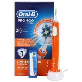 Oral B Pro 400 D16.513 CrossAction Orange elektromos fogkefe