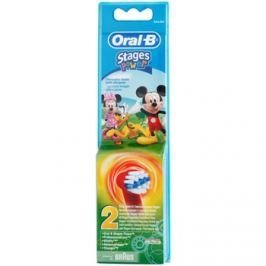 Oral B Stages Power EB10 Mickey Mouse csere fejek a fogkeféhez extra soft  2 db