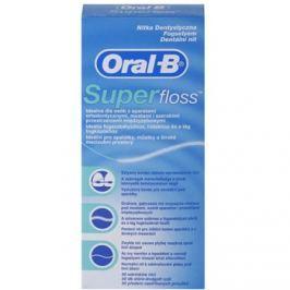 Oral B Super Floss fogselyem fogszabályzó és implantátumok tisztításához  50 db