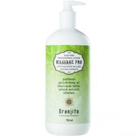 Oranjito Massage Pro masszázstej aleo verával  750 ml