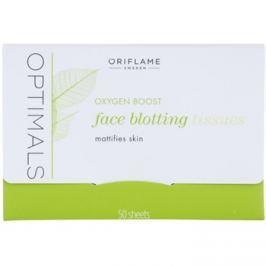 Oriflame Optimals Oxygen Boost mattító papír  50 db
