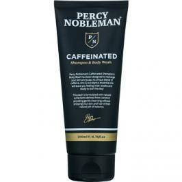 Percy Nobleman Hair sampon férfiaknak koffein kivonattal testre és hajra  200 ml