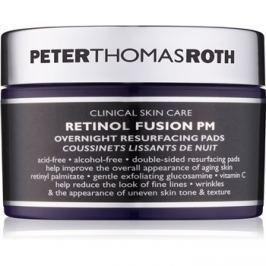 Peter Thomas Roth Retinol Fusion PM éjszakai vattakorongok az arcra a ráncok ellen  30 db