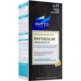 Phyto Color Sensitive tartós hajfesték árnyalat 6.77 Light Brown Cappuccino