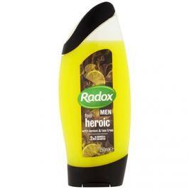 Radox Men Feel Heroic tusfürdő gél és sampon 2 in 1 Lemon & Tea Tree 250 ml