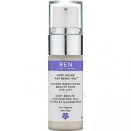 REN Keep Young And Beautiful™ élénkítő szemkrém lifting hatással  15 ml