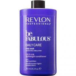 Revlon Professional Be Fabulous Daily Care tömegnövelő kondicionáló gyenge szálú hajra  750 ml