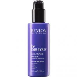 Revlon Professional Be Fabulous Daily Care hidratáló tej a dus és erős hajért   150 ml