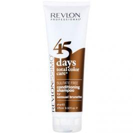 Revlon Professional Revlonissimo Color Care sampon és kondicionáló 2 in1 a barna árnyalatú hajra szulfátmentes  275 ml