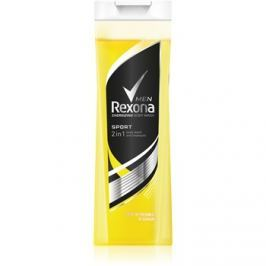 Rexona Sport tusfürdő gél és sampon 2 in 1  400 ml