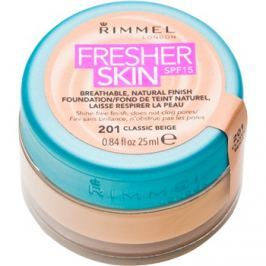 Rimmel Fresher Skin ultra könnyű make-up SPF 15 árnyalat 201 Classic Beige 25 ml