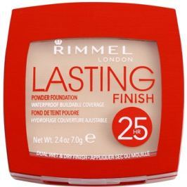 Rimmel Lasting Finish 25H ultra könnyű állagú púder árnyalat 003 Silky Beige 7 g