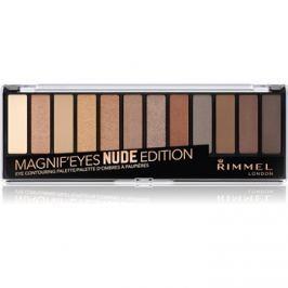 Rimmel Magnif´ Eyes szemhéjfesték paletták árnyalat 001 Nude Edition 14,16 g